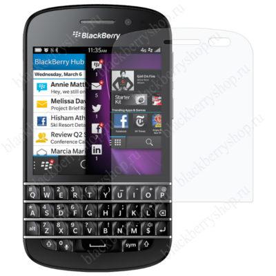 Стекло защитное BlackBerry Q10